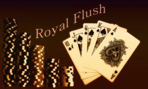royal flush poker